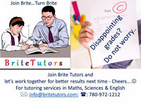 Brite Tutors - Grades 4-10 Maths, English, Sciences
