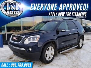 2008 GMC Acadia SLT-2 ALL WHEEL DRIVE! APPLY NOW! UR APPROVED!