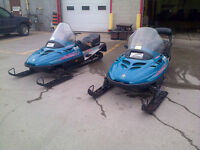TWO 1995 Ski-Doos for sale $2,000 for the pair OBO