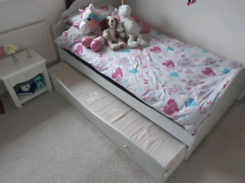 Dreams Bed and side table