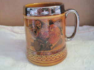 Vintage LORD NELSON Pottery Beer Mug Drinking Stein England
