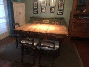 SOLD AS 1 Package several pieces of furniture see pictures below