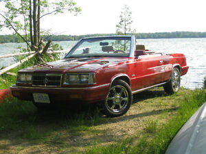 1986 Dodge Intercooled Turbo Convertible