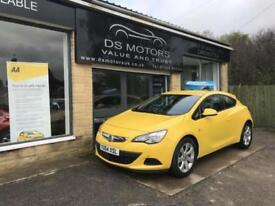 2014/64 Vauxhall/Opel GTC 1.4 16v Turbo ( 140ps ) Auto 2015MY Sport Yellow