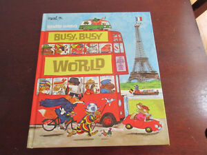 Busy Busy World - Richard Scarry The best for your kids.