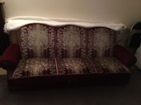 Single bed with draws and Sethi bed