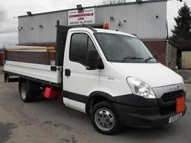 2012 IVECO DAILY 35C15 LWB 14FT ALLOY FORD TRANSIT DROPSIDE WITH TAIL LIFT!