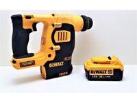 Hammer Drill Dewalt 18V Xr Lion Hammer Drill With Battery Hammer Drill
