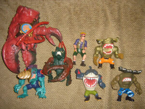 HUGE STREET SHARKS FIGURE LOT
