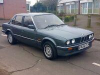 1987 BMW E30 320i auto pre facelift 12 months mot rare collectors car