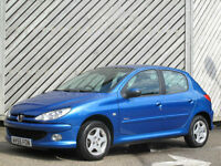 2005/55 PEUGEOT 206 1.4 16v SPORT 5 DOOR HATCH - EXCELLENT VALUE !!