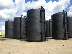 400 BBL Reconditioned Insulated Sloped/Flat Bottom Storage tanks