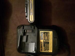 Dewalt 20v batter and charger