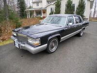 Cadillac Brougham in excellent condition
