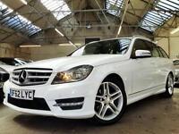 2012 Mercedes-Benz C Class 2.1 C250 CDI AMG Sport 5dr