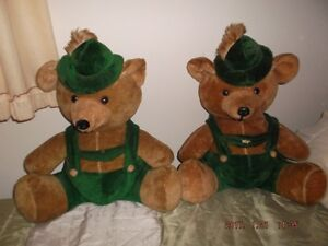 Vintage big teddy bears for sale