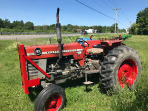 Tracteur Massey ferguson 165 , 1969