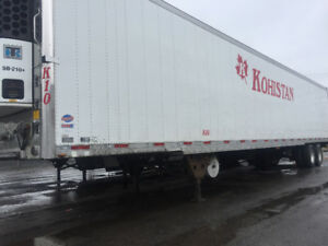 Selling 53ft reefer trailer in a very clean and good shape