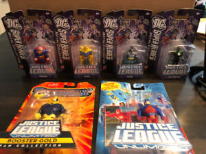 Justice League Unlimited 6 Figure Lot New and Sealed