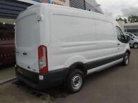 2015 Ford TRANSIT 350 LWB SHR L3H2 125ps VAN *F/S/H* Manual Large Van