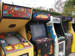 Looking for Video Game Arcade Machines & Parts - Any Condition!