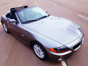 2003 BMW Z4 2.5i Convertible-109,000km-$12990-