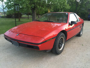 Safetied and Rust-Free Fiero. Low mileage.