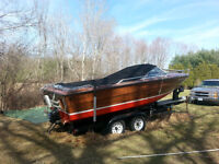 20FT SUNRAY 351 FORD WINDSOR RUNS GREAT needs drive