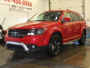 2018 DODGE JOURNEY Crossroad with DVD!