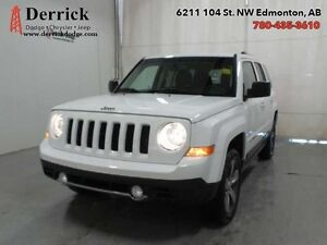 16 Jeep Patriot 4WD High Altitude Lthr Sts Sunroof 134.84 B/W