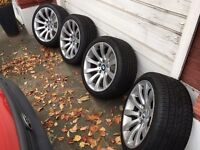 "BMW Style 218 19"" alloys"