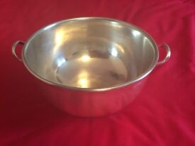 Large Silver Plated Serving bowl