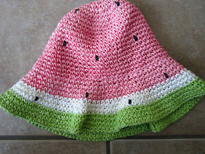 Gymboree Size 2T-5T Watermelon Straw Hat