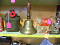 antique newfoundland School Bell