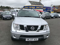 2007 NISSAN NAVARA D/C OUTLAW DCI PICK UP SILVER
