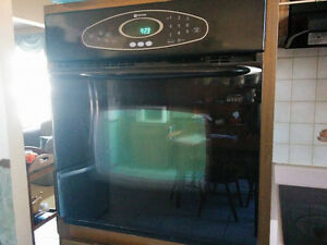 Maytag wall oven and stovetop