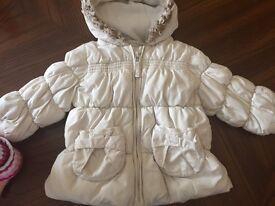 Baby girl Next coat 9-12 month