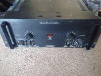 Turner B502XLR Vintage Studio Power Amplifier