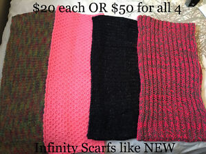 Women's Clothes/Scarfs - PRICES IN AD