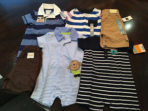 Designer infant clothes pack 3 to 6 months