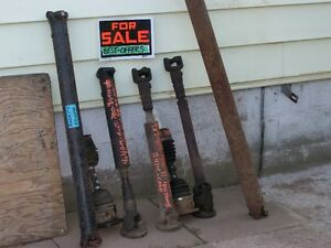 4X4 GMC/Chevy fullsize front and rear drive shafts 1988 to 1998