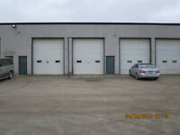 LARGE TRUCK BAYS with SHOP and OFFICES, 14' DOORS, SECURE YARD