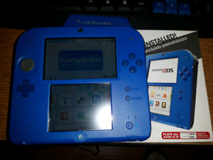 Nintendo Modded 2DS +32GB Card