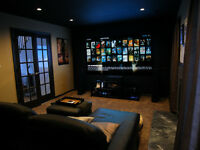 Experienced home media service and installation