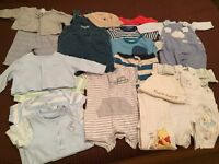 0-3 MONTHS BOYS SUMMER BUNDLE
