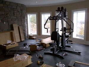 Exercise equipment assembly service-Treadmills,ellipticals, gyms