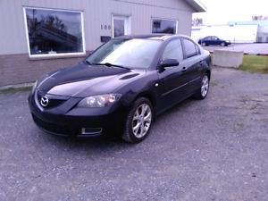 Mazda 3 2008 femme propriétaire