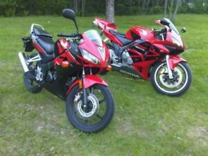 2009 Honda CBR125RR For Sale + Gear!