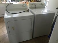 Washer and dryer (no heat)