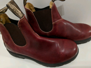 Blundstone boots burgundy LIKE NEW QUICK SALE!